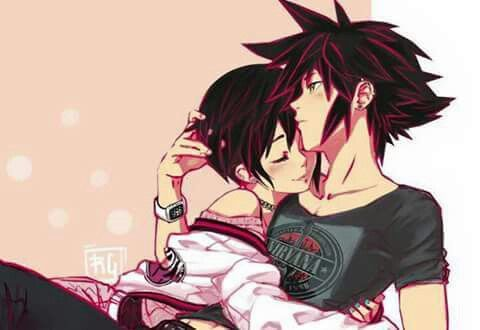 THIS IS MY FAVORITE SHIP!!! Vanitas x Xion. (I'm actually writing a Fanfic about this ship...)