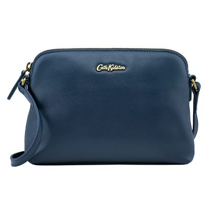SHOP: I love the teal colour of this Cath Kidston Slim Leather Cross Body bag