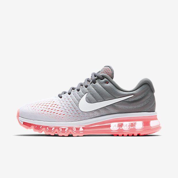 Nike Air Max 2017 Women's Running Shoe Size 8.5 (Silver)