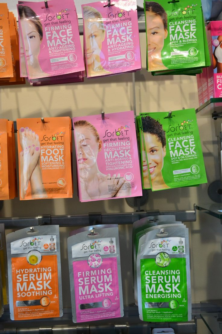 #Facemasks and more! From #Sorbet