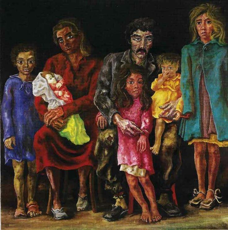 Antonio Berni( 1905- 1981) Rosario, provincia de Santa Fe, Argentina.: Surrealismo y realismo social