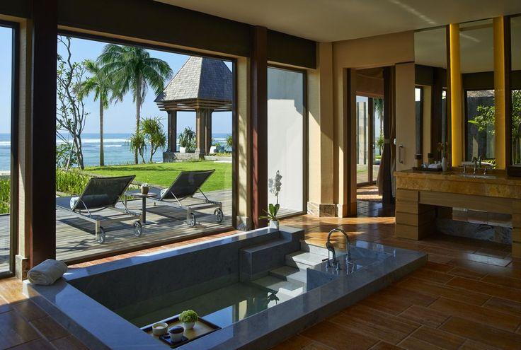 10 extravagáns szállodai fürdőkád, amiben szívesen lazítanánk