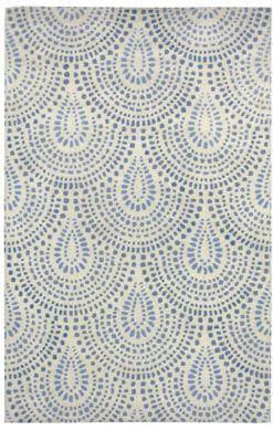 Blue textured wallpaper. | Paddington