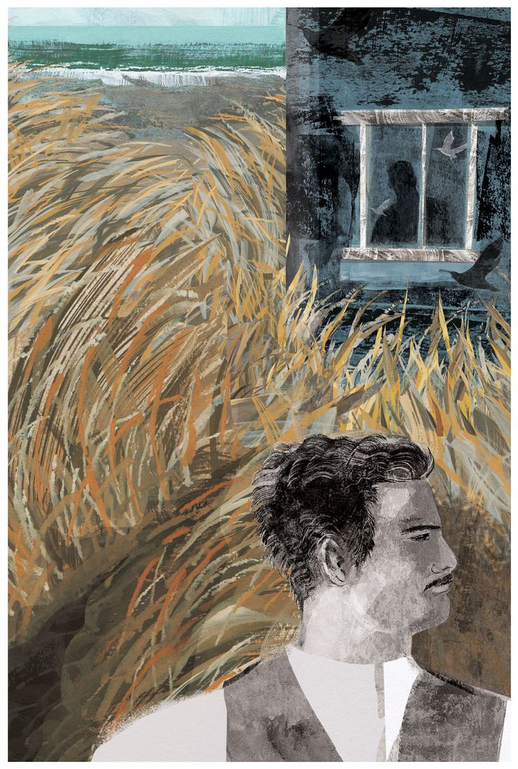 """www.lucy-burns.com  My 2015 entry to the House of Illustration/Folio Society Book Illustration Competition  """"A Tale of an Empty House"""""""