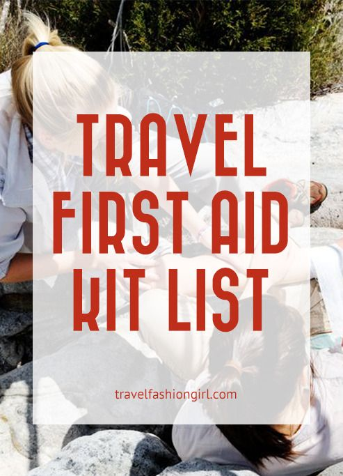 It's impossible to prepare for every situation you might find yourself in while traveling. Here are some things to include in you travel first aid kit list!