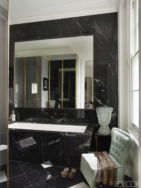 Black Luxury Bathrooms 49 best bathroom dramatic images on pinterest | bathroom ideas