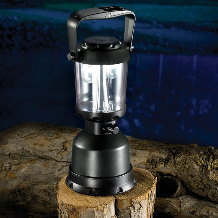 lantern that provides 14 days of continuous light on four D batteries