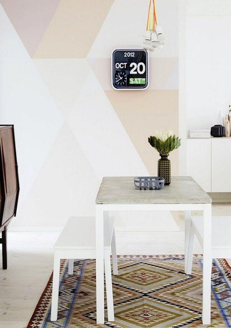 Wohnzimmer modern streichen muster  Die besten 25+ Wandfarbe cappuccino Ideen auf Pinterest ...