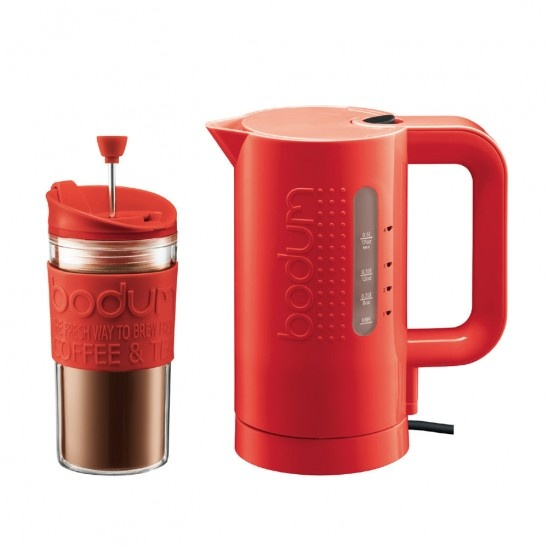 Bodum Bistro  Electric Kettle with Bonus Travel Press