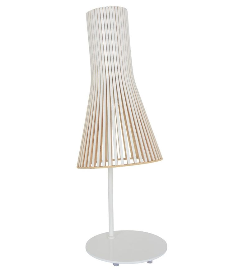 Beacon lighting alrik 1 light table lamp in white
