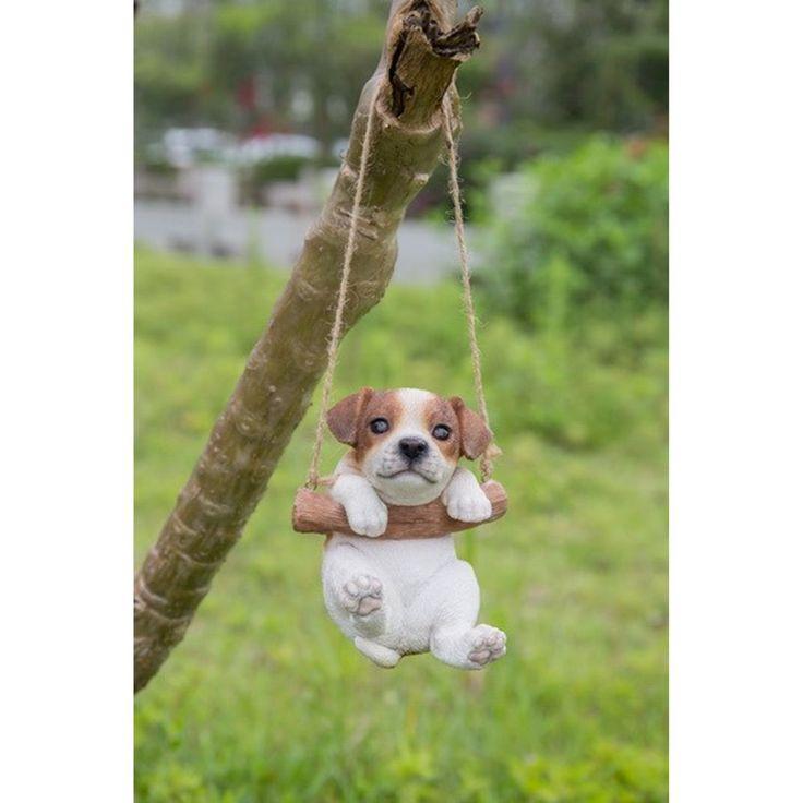 Garden Dog Picture