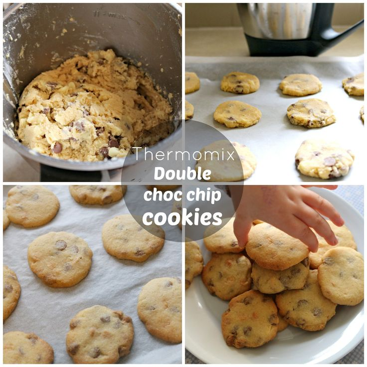 double choc chip cookies in thermomix from @mrsDplus3