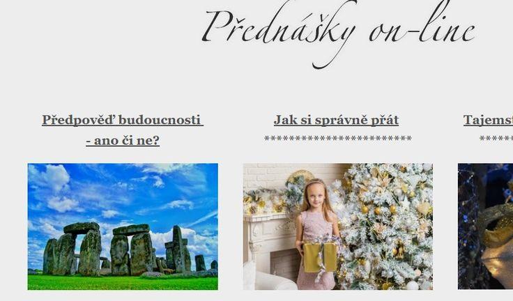 přednášky on-line   Eva Marvánová