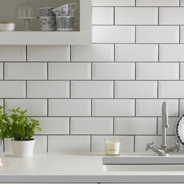 White Kitchen Tiles Grey Grout: 18 Best Images About Tiles On Pinterest