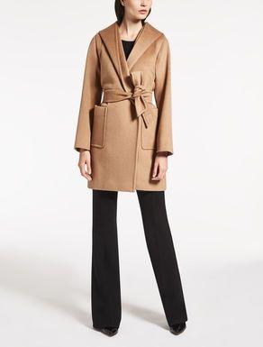 Max Mara: Mantel aus Kamelhaar