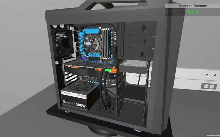Juega a montar tu propio ordenador con PC Building Simulator -- 2017/03/17 - Ya puedes descargar gratis PC Building Simulator, el videojuego que te permite crear tu propio ordenador con el diseño que quieras y sin coste alguno.