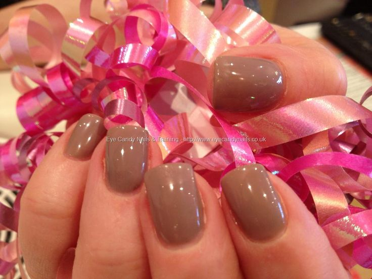 Wild mink gelish gel polish - LOVE the color!