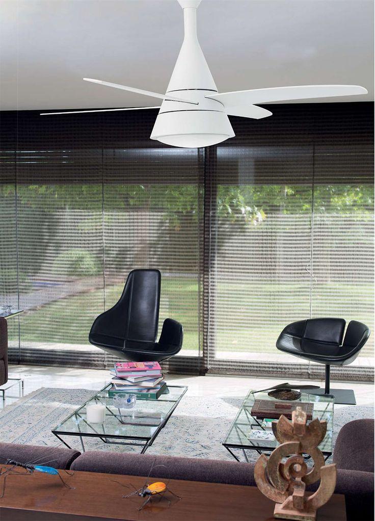 Ventilateur de plafond avec lumière WIND de FARO