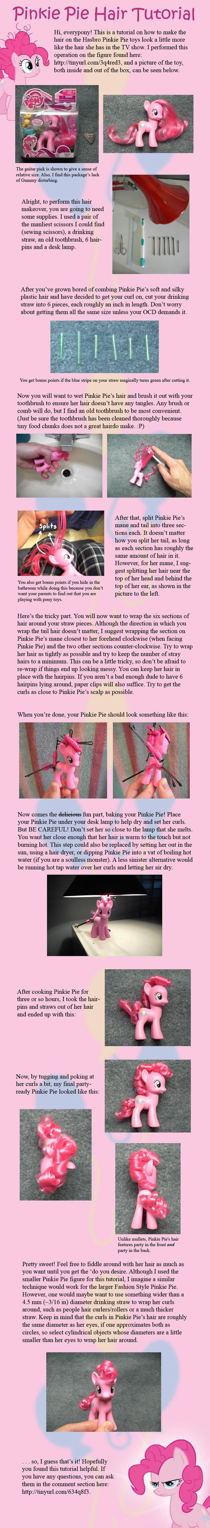 Pinkie Pie Hair Tutorial by ~countschlick on deviantART