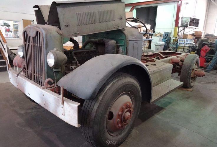 Cheap Truck: 1941 White Semi Truck Flatbed - http://barnfinds.com/cheap-truck-1941-white-semi-truck-flatbed/