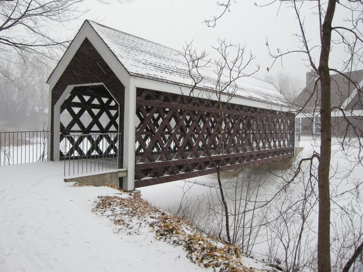 love these covered bridges