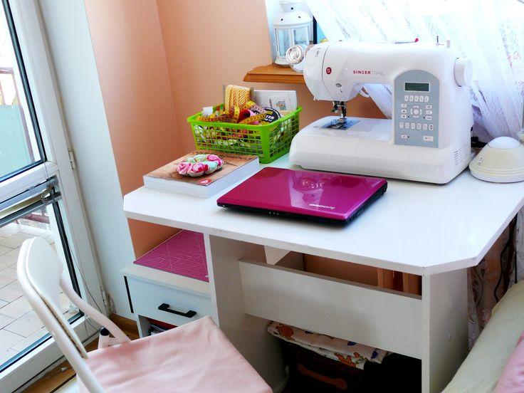 Dreams Fabrics: Mój mikro craftroom :)