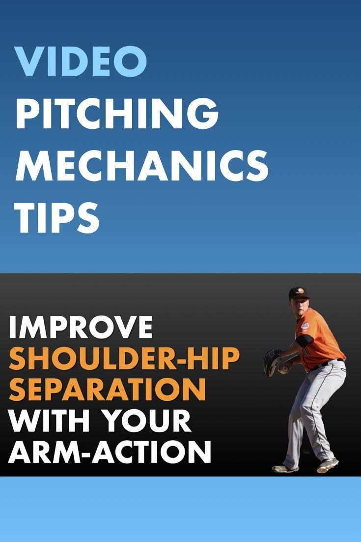 Learn How To Increase Pitching Velocity With Better Shoulder Hip Separation In Baseball Baseball Training Pitching Drills Mlb Spring Training