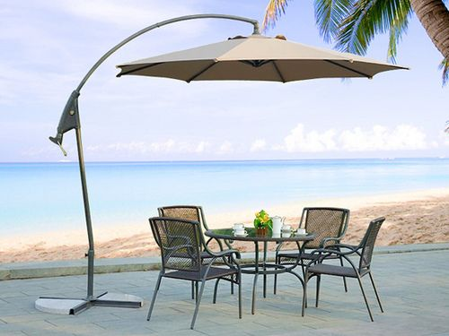 Patio umbrellas also protect your outdoor furniture from UV rays of the sun by providing up to 99% UV protection. Description from blog.beliani.com. I searched for this on bing.com/images