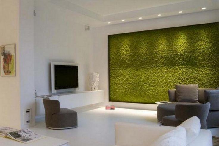 Natural Moss Wall, color may green.