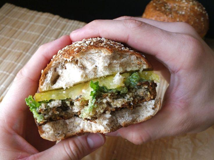 Eggplant Burgers [Vegan, Gluten-Free, Dairy-Free]