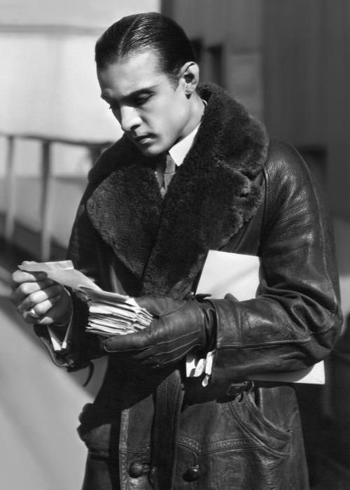 Rudolph Valentino was the definition of SSS (Silent Screen Swagger)