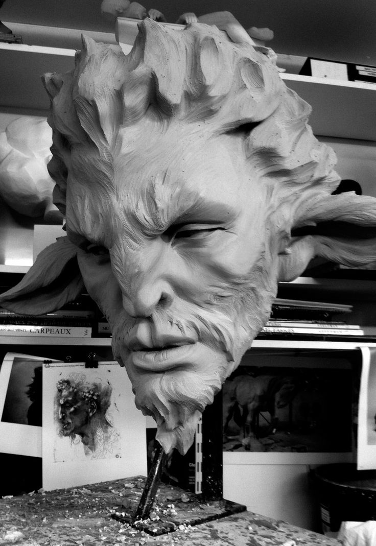Max Patte Some pretty incredible sculptures. Awsome.