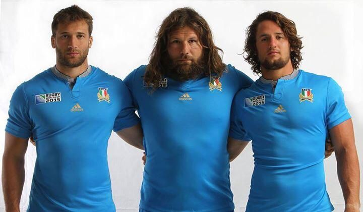 IN STORE TODAY! #Italrugby & @adidasITA unveil new #RWC15 jersey as @rugbyworldcup countdown reaches 2 months to go!