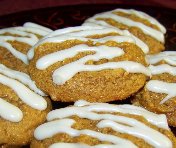 Chewy Pumpkin Molasses Cookies | Desserts, Sweets | Pinterest
