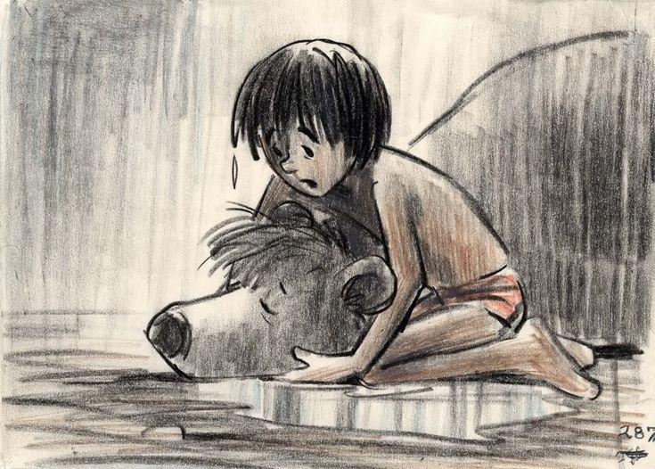 Mogli and Baloo