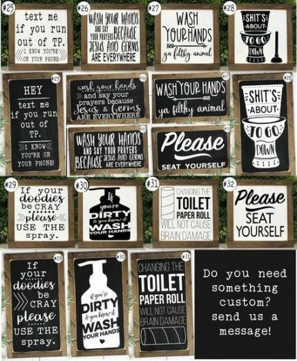 New Bath Room Diy Signs Funny 35 Ideas Funny Bathroom Signs Bathroom Signs Bathroom Humor