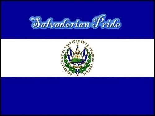 salvadorian flags