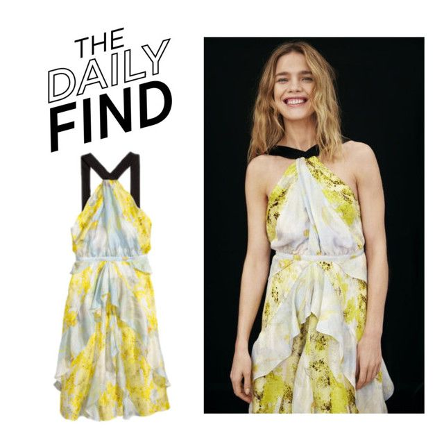 """""""The Daily Find: H&M Dress"""" by polyvore-editorial ❤ liked on Polyvore featuring H&M and DailyFind"""