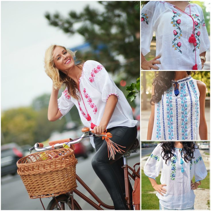 Happy to wear this blouse! #handmade #peasantblouse