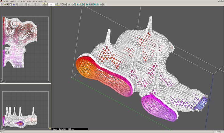 "last cut - data sent to 3D printer Project""Prototypal thermae"" Author: Dalibor Dzurilla"