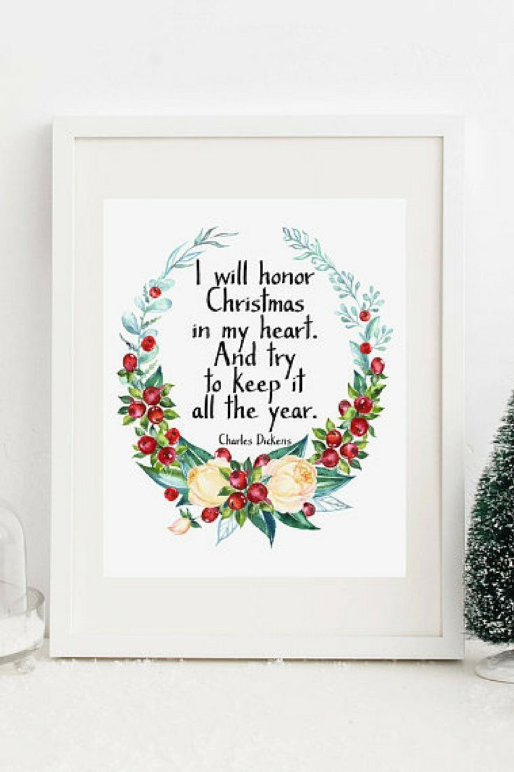 It\'s not Christmas without A Christmas Carol. This quote is the best ...