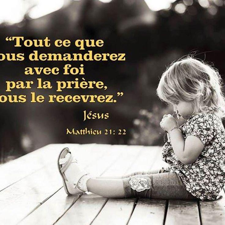Un encouragement à persévérer dans la prière.  #versetdujour