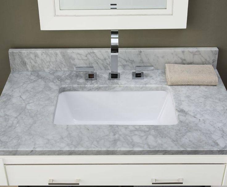 Comcarrera Marble Bathroom Vanity : vanity top  In with the new  Pinterest