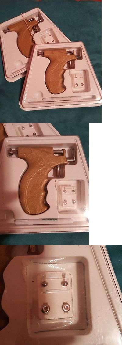 Piercing Supplies and Kits: Caflon Ear Body Piercing Gun Kit (Lot Of 2) BUY IT NOW ONLY: $44.99