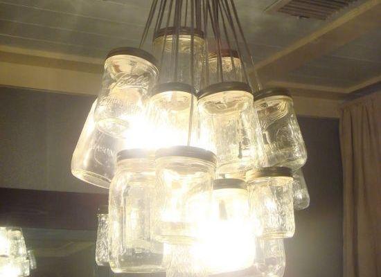DIY This: Mason Jar Chandelier