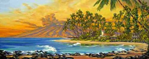 """""""Maui Gold"""" by Janet Spreiter at Maui Hands"""