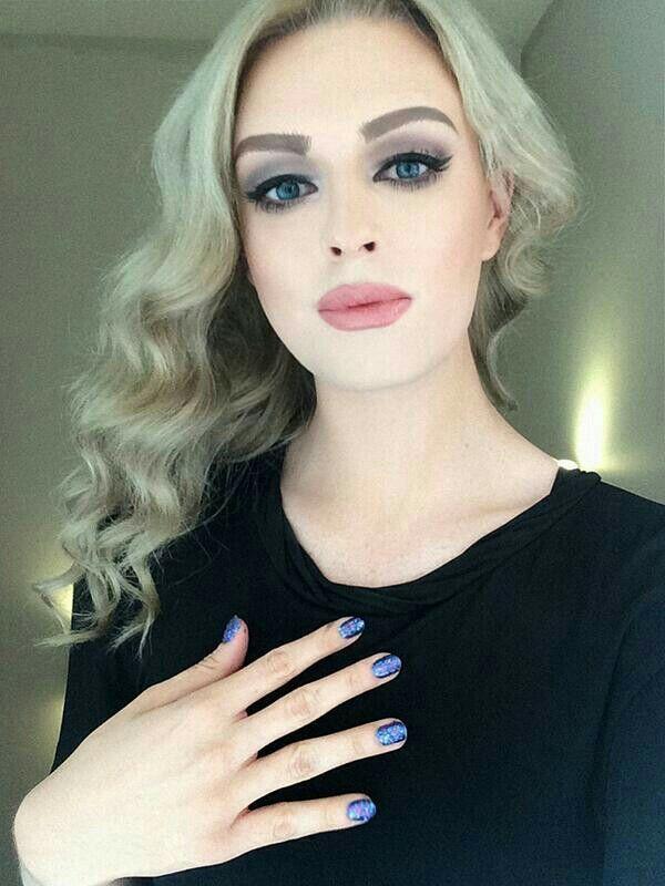 Transgender makeup model-6905