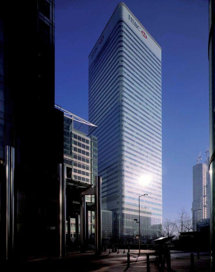 HSBC London, UK. Foster+Partners. Exterior.