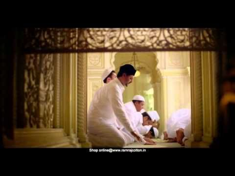 RAMRAJ HILAAL Prayer Dhotis and Shirts Malayalam Ad - HILAAL Prayer Dhot...