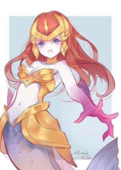 SKT T1 Nami by misononeko HD Wallpaper Background Fan Art Artwork League of Legends lol
